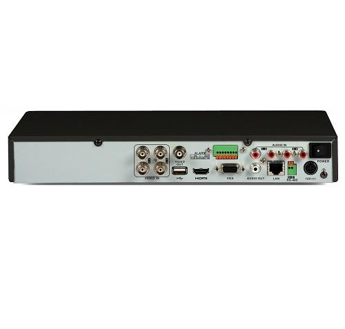 HD-TVI TURBO HD 3 0 DVR: Hikvision DS-7204HUHI-K1 (4ch, 5MP@12fps, H 265,  HDMI, VGA)