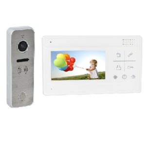 Color video Intercom - DoorPhone kit - EALINK M2604A-D23ACS / 4 wire
