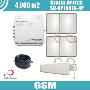 StellaOffice SD-RP-1001G-4P - 4.000mq - GSM