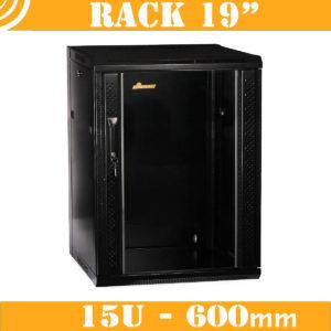 Rack cabinet - 15U - 600mm
