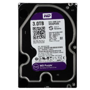 "HDD 3TB PURPLE WD30PURX (3.5"", SATA3/600, 64MB) - Western Digital"