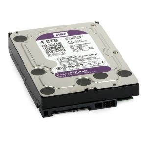 "HDD 4TB PURPLE WD40PURX (3.5"", SATA3/600, 64MB) - Western Digital"