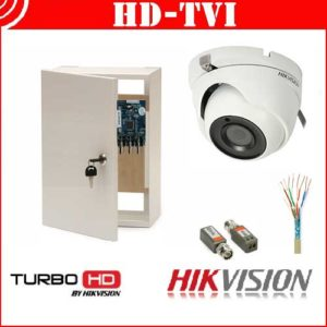 Videosecurity Kit HD-Tvi Hikvision - 4ch - stores/bars