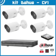 Videosecurity Kit HD-Cvi Dahua – 4ch – 4mpx – IR 30m 1