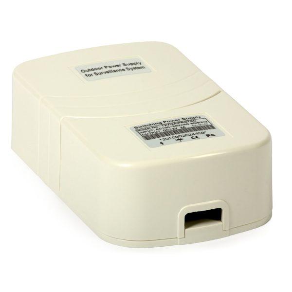 Power Supply for CCTV Cameras: PROTEC 12VDC/1