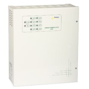 PoE Switching Power Supply POE084832 (45.6...52.8VDC, 8x0.4A)