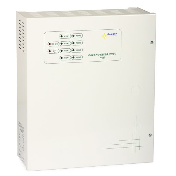 PoE Switching Power Supply POE084832 (45.6…52.8VDC, 8×0