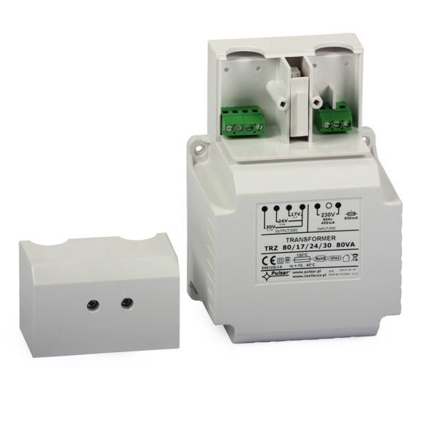 AC Transformer Pulsar AWT8172430 (230VAC/30-24-17VAC, 80VA) 2