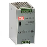 Switch Mode Power Supply: DR120-12 (12-14VDC/10A) 1