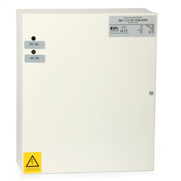 Buffer Power Supply: ZBF-12V/4A 17Ah EKO 1