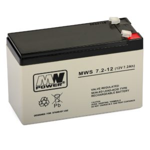 Rechargeable Battery MWS 7.2-12 (12V, 7.2Ah)