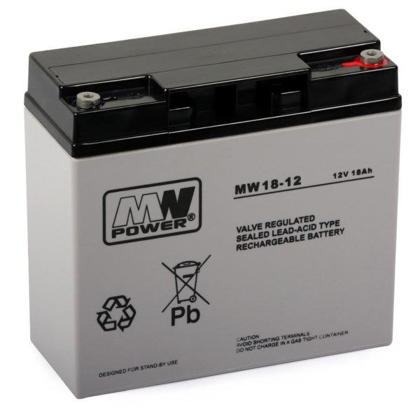 Rechargeable Battery MWS 18-12 (12V, 18Ah) 1