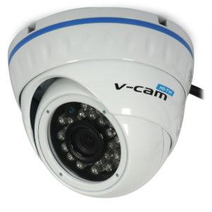 HD-TVI Camera V-CAM 361 (ceiling, 1080p, 3.6mm, 0.01 lx, IR up to 20m; CVBS, AHD, HD-CVI)