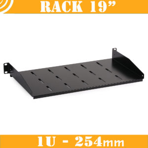 1U RACK Single-Side Shelf (vented)