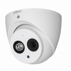 HAC-HDW1200EMP-A DAHUA HD-CVI - Dome + Audio (2MP, 3,6mm, 0.01 lx, IR up to 50m)