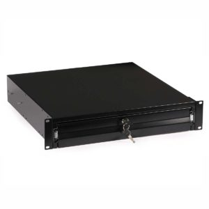 Rack Drawer (2U, key-locked, for 600/800mm cabinets)