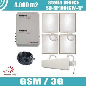StellaOffice SD-RP-1001GW-4P - 4.000mq - GSM / 3G