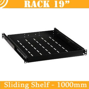 Sliding Shelf (vented, for 1000mm RACK cabinets)