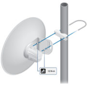 UBNT PowerBeam M5 300mm, outdoor, 5GHz MIMO, 2x 22dBi, AirMAX 2