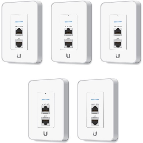 UBNT UniFi AP In Wall – pack 5 1